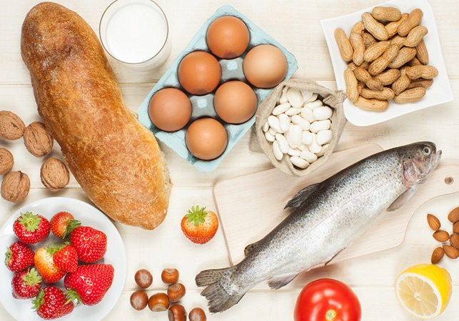 Яркие представители пищевых аллергенов