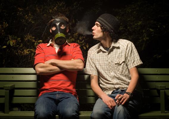 Аллергия на курение